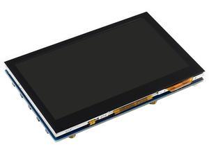 Image 3 - 4.3 cala, 800x480, pojemnościowy ekran dotykowy, interfejs HDMI, obsługuje wiele mini komputerów/wielu systemów, IPS , 4.3 cala HDMI LCD (B)