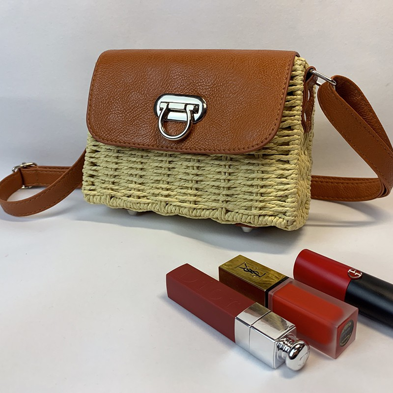 Fashion Women Bags Concise Casual Personality Bags All-match Color-blocked Square Shoulder Bags