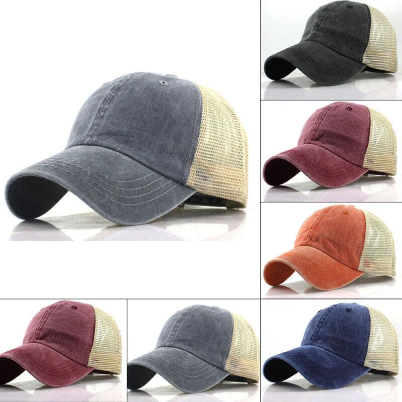 Simple Vintage Baseball Cap Men Snapback Cotton Women Summer Baseball Hat Solid Outdoor Sports Caps Hats Adjustable Baseball Cap