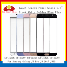 10Pcs/lot Touch Screen For Samsung Galaxy J5 PRO 2017 J530 J530F Touch Panel Front Outer J5 Pro SM-J530F LCD Glass Replacement цены