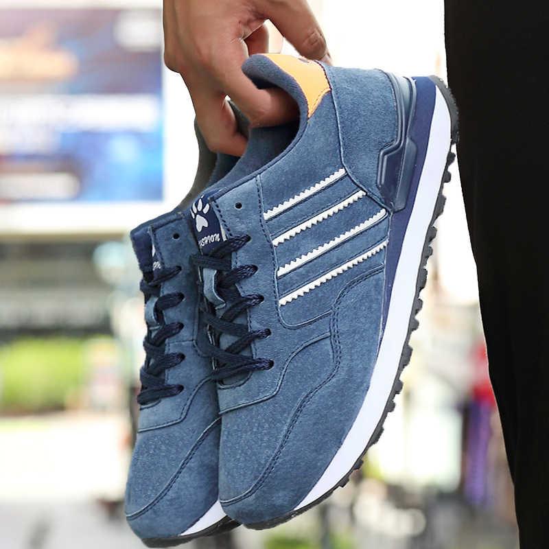 Giày Casual Nam Ánh Sáng Nhân Tạo Giày Bít Sabo Da 2019 Mới Thu Thoải Mái Mùa Xuân Ngoài Trời Thường Thoáng Khí Đế Giày Nam