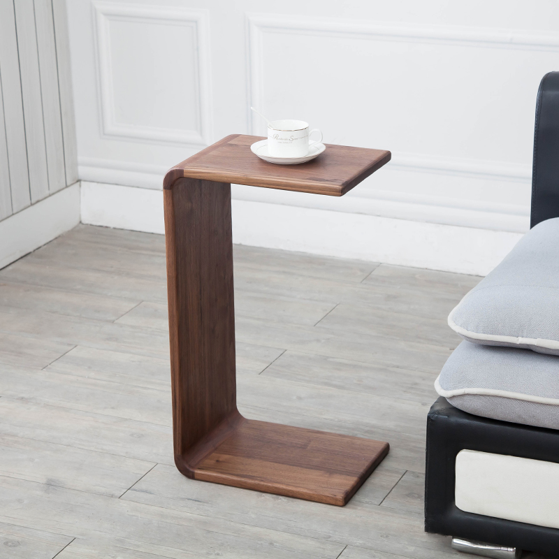 Nordic wood edge several removable sofa corner living room small coffee table simple creative bedside table
