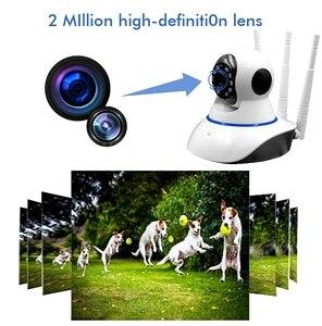 Image 2 - CCTV HD 1080P 2MP ev güvenlik IP kamera Wifi dış gözetim kameraları kablosuz Ptz Camaras De Vigilancia Con Wifi P5070