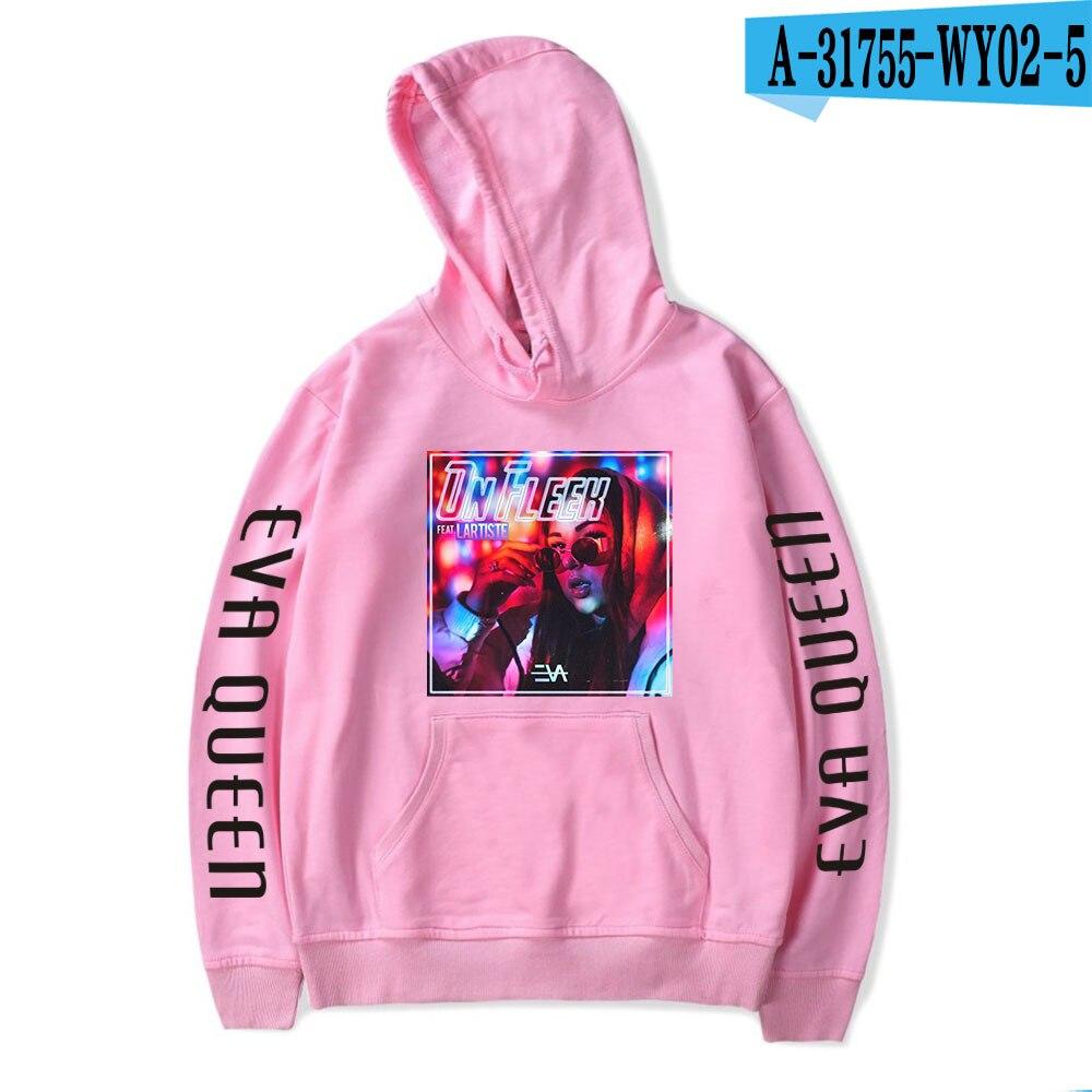 2020 Eva Queen Hoodies Men Casual Streetwear Sweatshirt Sudadera Hombre Eva Queen Hoodie For Men/Women 8