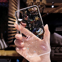 Moskado Bling Glitter Star Moon Universe Phone Case For iphone 11 Pro Max XR XS