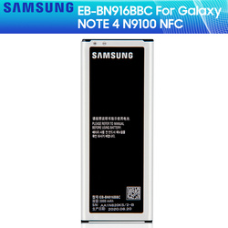 SAMSUNG Original Battery EB-BN916BBE / EB-BN916BBC For Samsung GALAXY NOTE4 N9100 N9108V N9109V N9106W NOTE 4 NFC 3000mAh