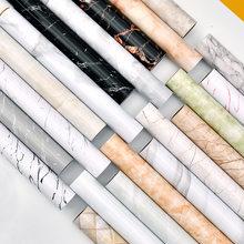Rollo de papel tapiz autoadhesivo impermeable, papel tapiz de mármol, vinilo para sala de estar, baño, cocina, paredes, decoración del hogar