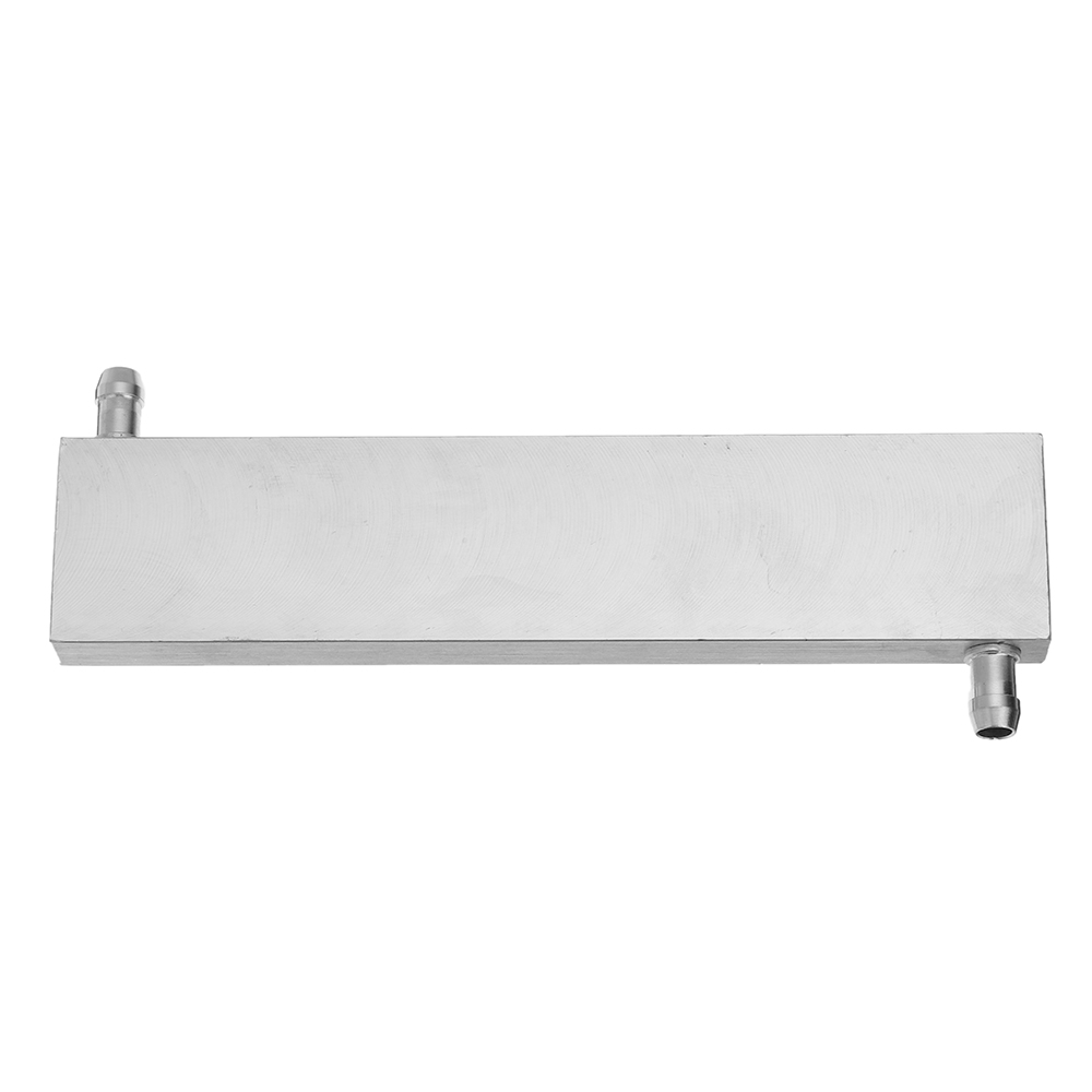 40x200x12mm Aluminum Water Cooling Block For CPU Semiconductor Cooling Radiator Heatsink