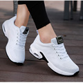 Women's Sneakers Breathable Mesh Casual Ladies Flat Running Shoes Fashion Platform Outdoor Non-Slip Lace-Up Female Sports Shoes
