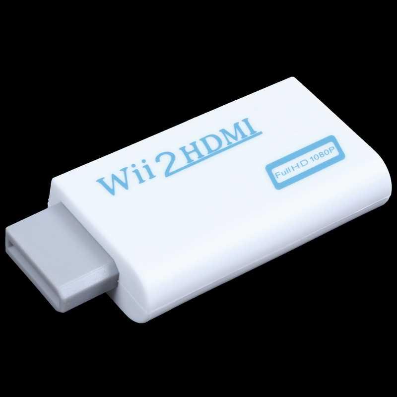 Wii к HDMI Wii 2HDMI Full HD видеорегистратор FHD 1080P конвертер адаптер 3,5 мм o Выход Jack