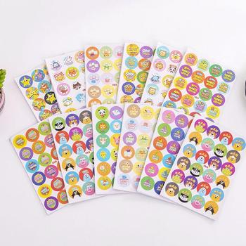 1Pcs Cartoon Bubble Stickers Children Reward Sticker Mother Toys Stickers Praise For Kids Award Teacher Label M9N5 image