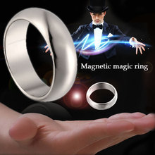 Gold Cambered PK Ring Strong Collectibles Toys and Hobbies Magnetic Ring Magnet Coin Finger Magic toys magnet ring
