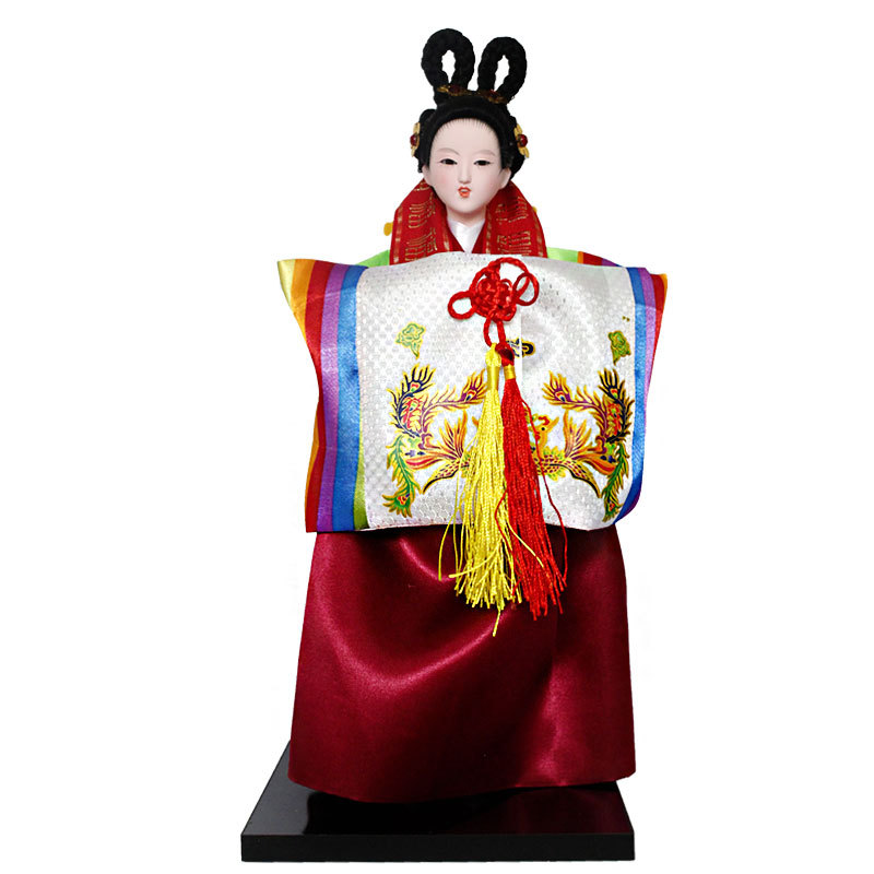 12inch Korea traditional Hanbok Model Figure 29