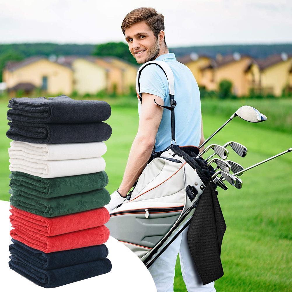 de Secagem Rápida Esportes Tri-Fold Algodão toalha com Clipe