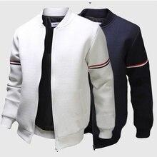 Zogaa Мужская толстовка Мужская брендовая повседневная куртка на молнии стоячий вырез Sudaderas Hombre Высококачественная Толстовка Повседневная Верхняя одежда для мужчин