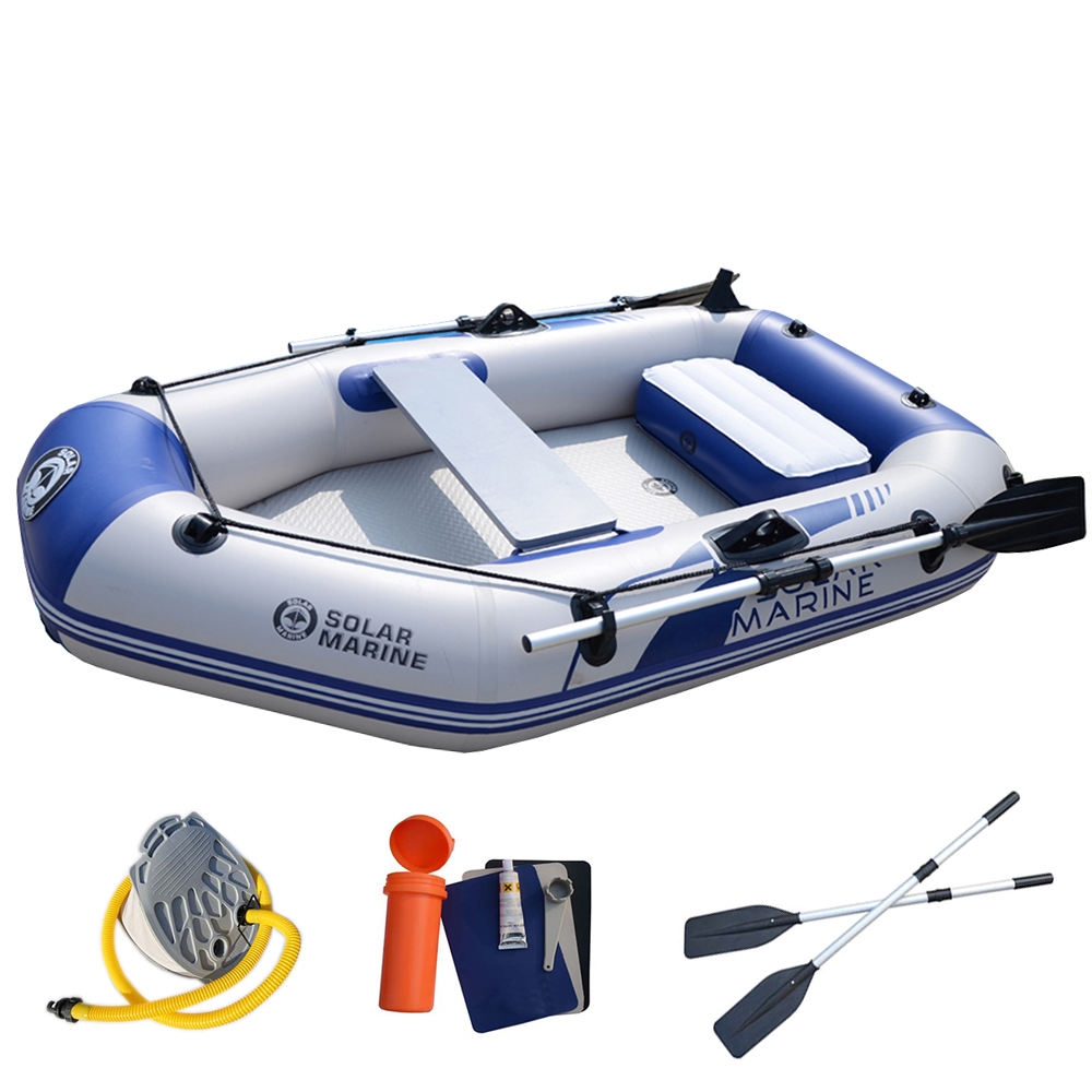 1 Person 175cm Fishing Boat Inflatable Water Sports 0.7mm PVC Safety Kayak Canoe Raft Dinghy Hovercraft Air Floor