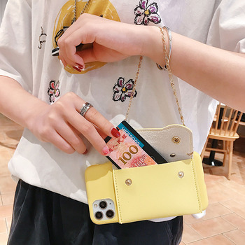 Candy Wallet Leather Soft Phone Case Hand Strap Cover for Samsung GALAXY J2 J3 J4 Core J5 J6 Plus J7 Pro Prime J8 2017/2018 Rope image