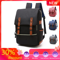 Men Women Backpack Bags Laptop travel school small mini bags For Teenager Fashion Male Vintage Leisure Mochila Boys Girls