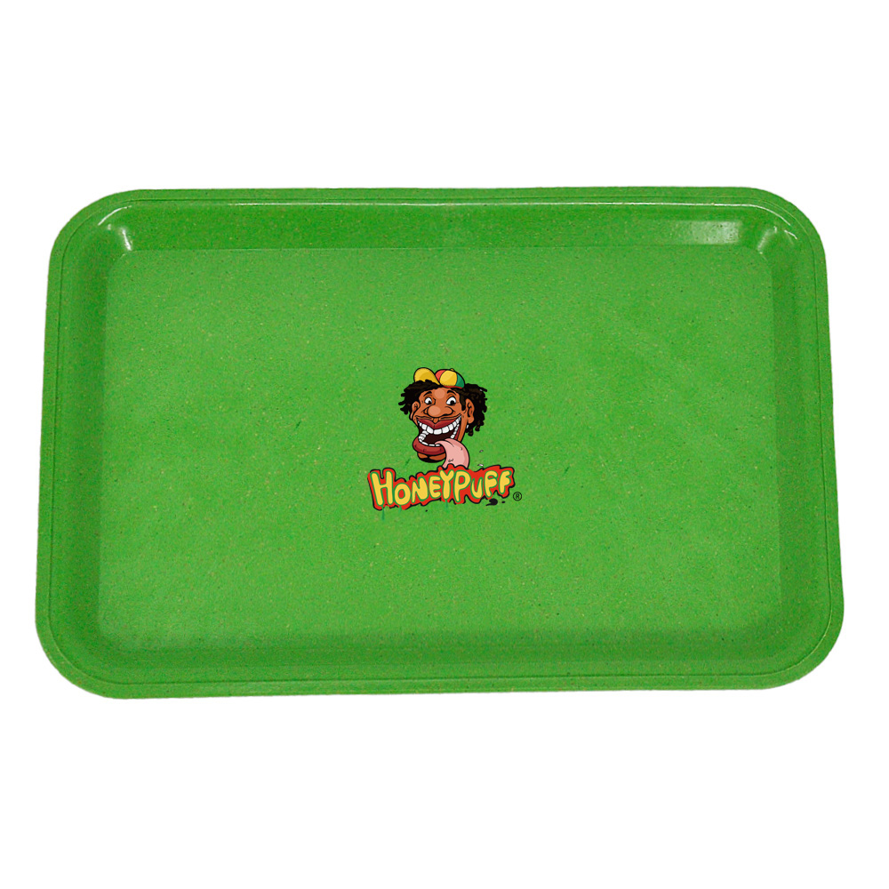 HONEYPUFF Degrading Material Tobacco Rolling Tray For Rolling Paper Plate Spice Cigarette Smoke Storage Smoking  Accessories 5