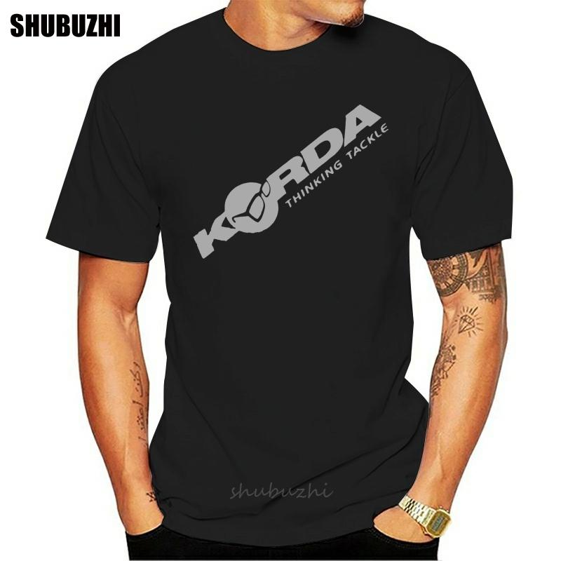 Korda Inspired Tribute T Shirt Angling Fishing Fish Carp Leisure Camping fashion t shirt men cotton brand teeshirt