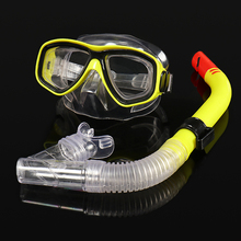 Kids Diving Mask and Snorkel Set Anti-Fog Goggles Glasses Swimming Easy Breath Tube suit Professional Scuba