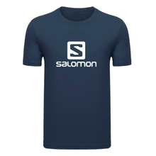 New Clothing Fashion T Shirt Men Breathable Mens Solomon Short Sleeve Fitness t-shirt Tee Tight Casual O-neck Summer Brand Top