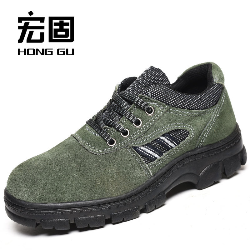 Currently Available Supply Safety Shoes Smashing Stab-Resistant Acid And Alkali Resistant Oil Resistant Manufacturers Wholesale