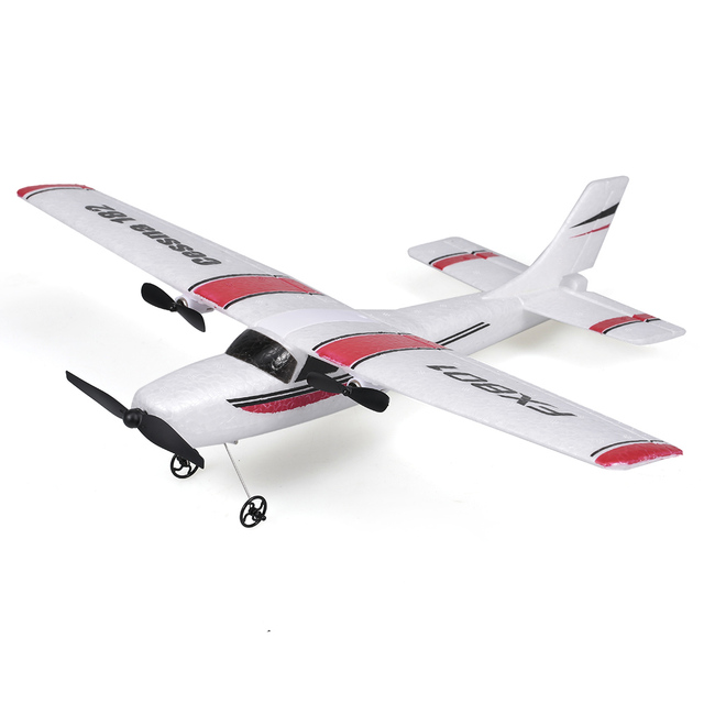 FX801 RC Plane Cessna 182 2.4GHz 2CH RC Airplane Durable 20 Minutes Flying Time Outdoor RC Aircraft Model Toys for Beginner 2