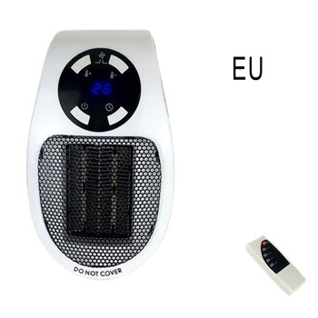 Mini Heater Portable Electric Space Heater Home Office Desktop Hot Air Heater Remote Quick Heat Thermostat 600w infrared space heater panel room heater with wireless sensor thermostat
