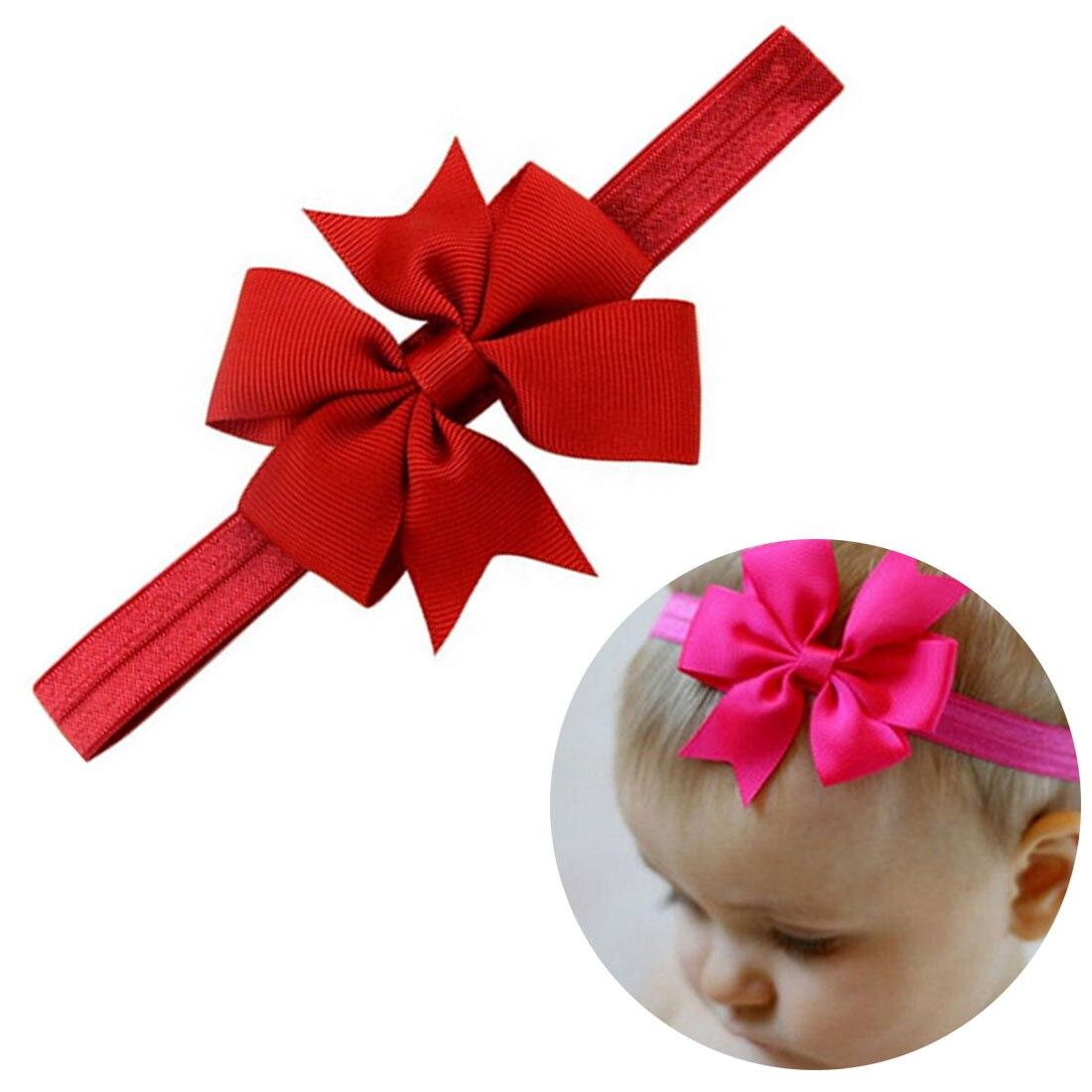 Baby Kids Girls Rabbit Bow Ear Hairband Headband Turban Knot Head Wraps Cotton Blends Unisex Hairband