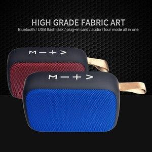 Mini Bluetooth Speaker Portable Wireless Loudspeaker Sound Stereo Music Surround Outdoor Speaker Support FM TFCard