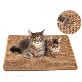 Alfombrilla para rascar gatos, Sisal tablero rascador para gato, poste rascador, juguete para torre, escalada, árbol, almohadilla, muebles, Protector, juguetes para gatos