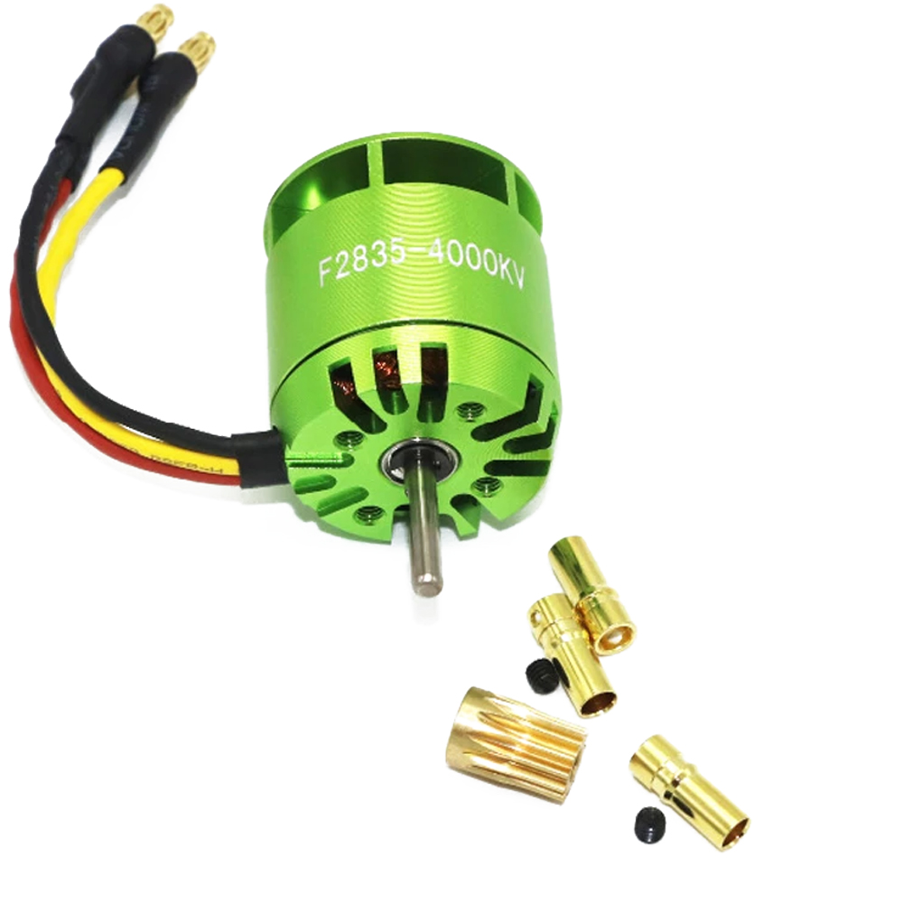 4000KV <font><b>Brushless</b></font> <font><b>Motor</b></font> For All ALIGN TREX T-rex 450 <font><b>RC</b></font> helicopter image