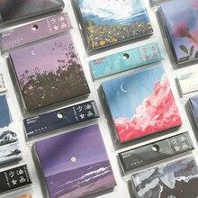 90sheets/лот творческий маслом липкие блокноты N-времени Блокнот руководство DIY декоративные наклейки цвет вычурный стиль канцтовары