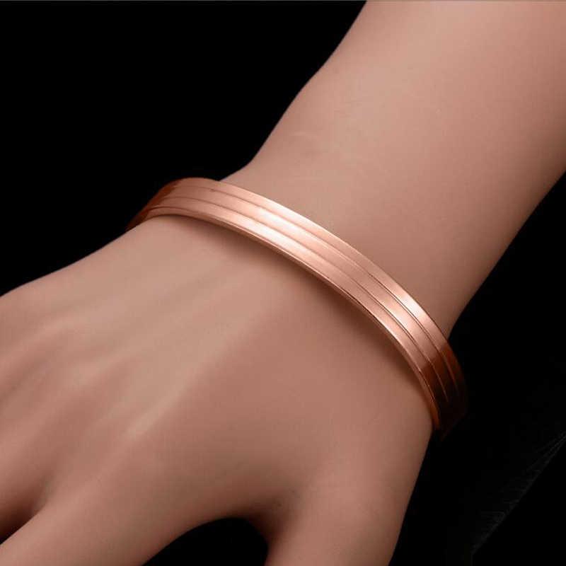2019 男性女性健康純銅磁気ブレスレット健康療法磁石腕輪愛好家のギフト