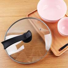 Home kitchen cooker pot lid handle plastic upstanding cover