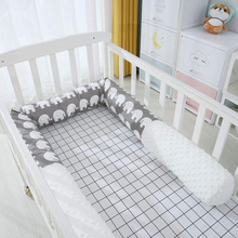 Adjustable Baby Crib Bumper Safety Bed Soft Pack Splicing Bed Surround Breathable Pure Cotton Anti-collision Surround Kit