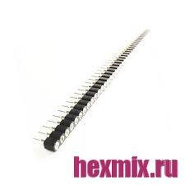40 Pin 2.54mm Single Row Round Female Connector (Centipede)