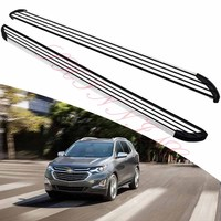 KINGCHER Fit For Chevy Equinox 2018 2019 2020 Running Boards Side Step Nerf Bar Aluminium