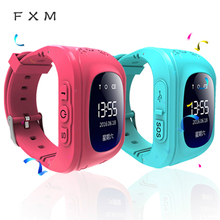 NEW Hot Anti Lost Q50 OLED Child GPS Tracker SOS Smart Monitoring Positioning Phone Kids Baby Watch Compatible IOS & Android