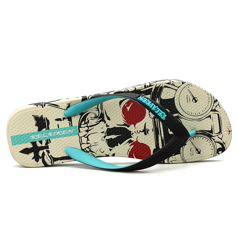 Hdfcf40718e5d40e6a94c2cc3d8242239h - VESONAL Summer Graffiti Print Slippers Men Shoes Flip Flops Slipers Male Hip Hop Street Beach Slipers Casual Flip-flops