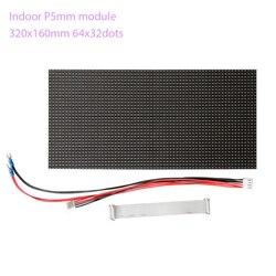 144 шт. 64x32dots RGB HD P5 внутренний светодиодный модуль видеостена с контроллером питания высококачественный модуль полноцветный светодиодный ди...