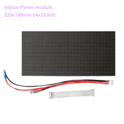 144 stücke 64x32dots RGB HD P5 indoor led-modul video wand mit power supply controller hohe qualität modul volle farbe led-anzeige
