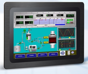 Industrial Android Panel PC, 12.1 inch LCD, A64 Cortex-A53 CPU, Capacitive Touchscreen, Customized HMI, Provide OEM/ODM Services