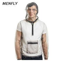Menfly Чистая Пряжа одежда джунгли Приключения дышащий насекомых