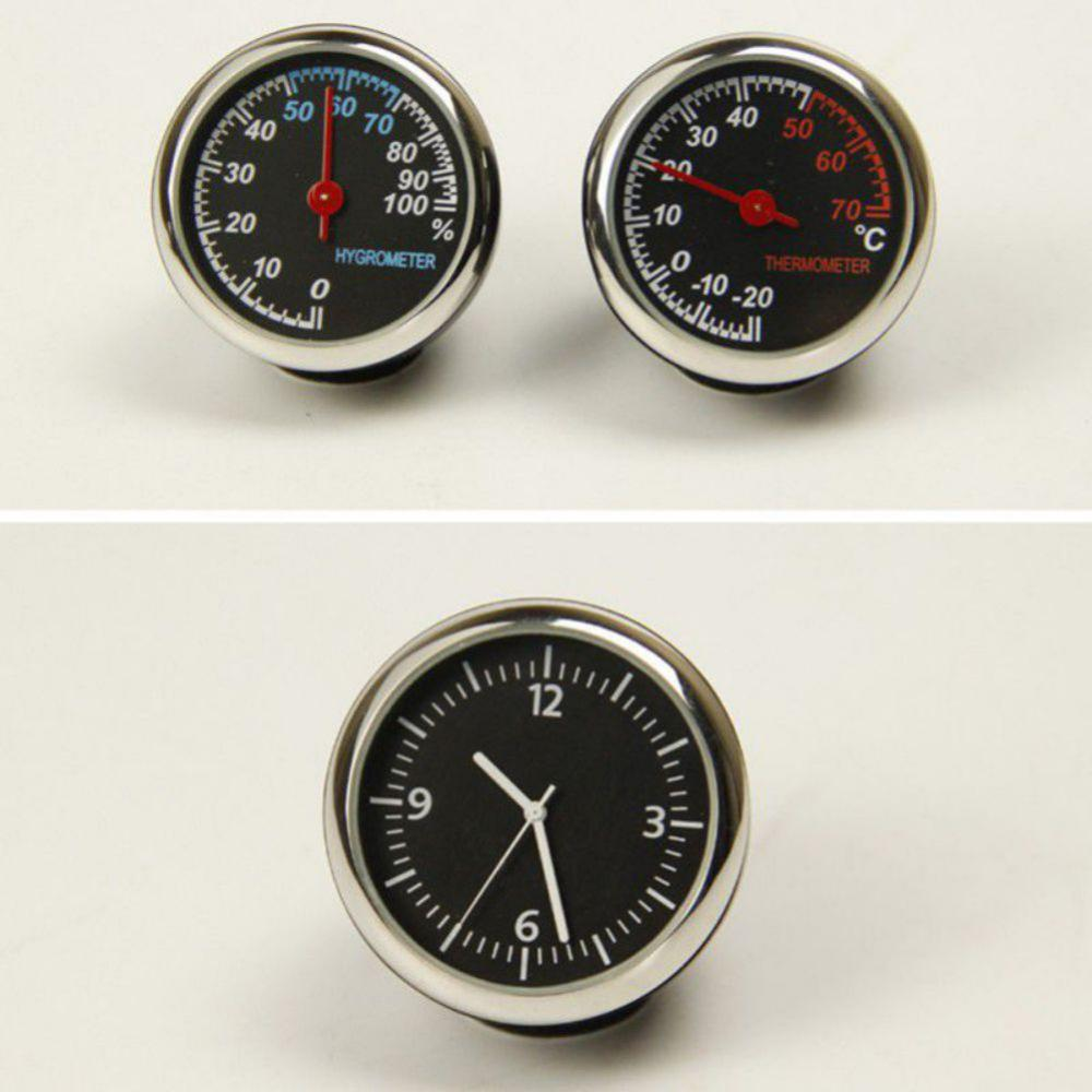 Fluorescent Vehicle Interior Dash Adhesive Hygrometer Gauge