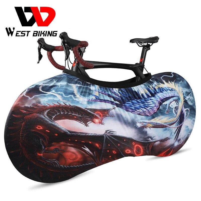 WEST vélo vélo protecteur couverture anti-rayures Anti-poussière équipement de protection cyclisme vtt route vélo roues cadre couverture sac de rangement