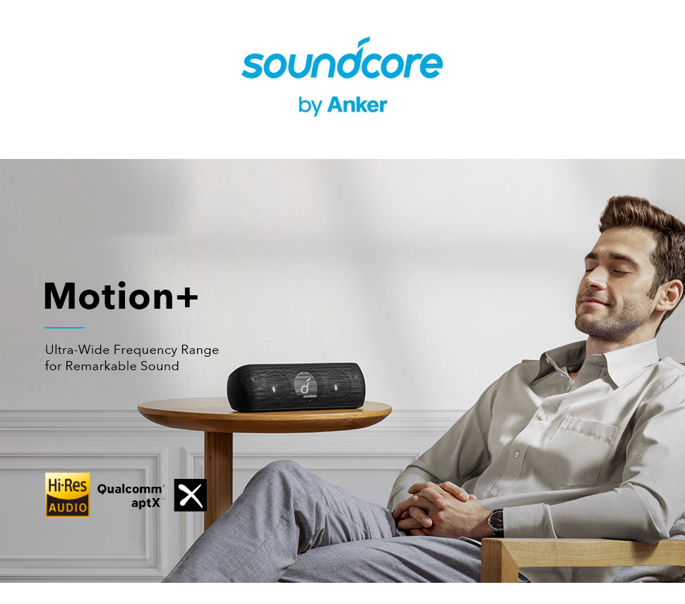 Hdfd009ce119045a7915e591271b3df70o - Anker Soundcore Motion+ Bluetooth Speaker with Hi-Res 30W Audio, Extended Bass and Treble, Wireless HiFi Portable Speaker