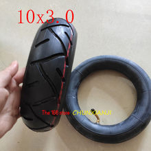 High performance 10x3.0 inner and outer tire 10*3.0 tube tyre For KUGOO M4 PRO Electric Scooter Go karts ATV Quad Speedway tyre(China)