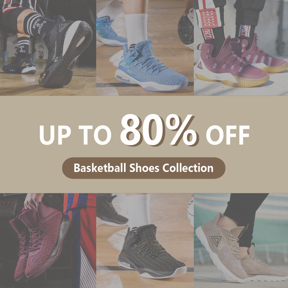PEAK Basketball Shoes Collection Winter Big Sales